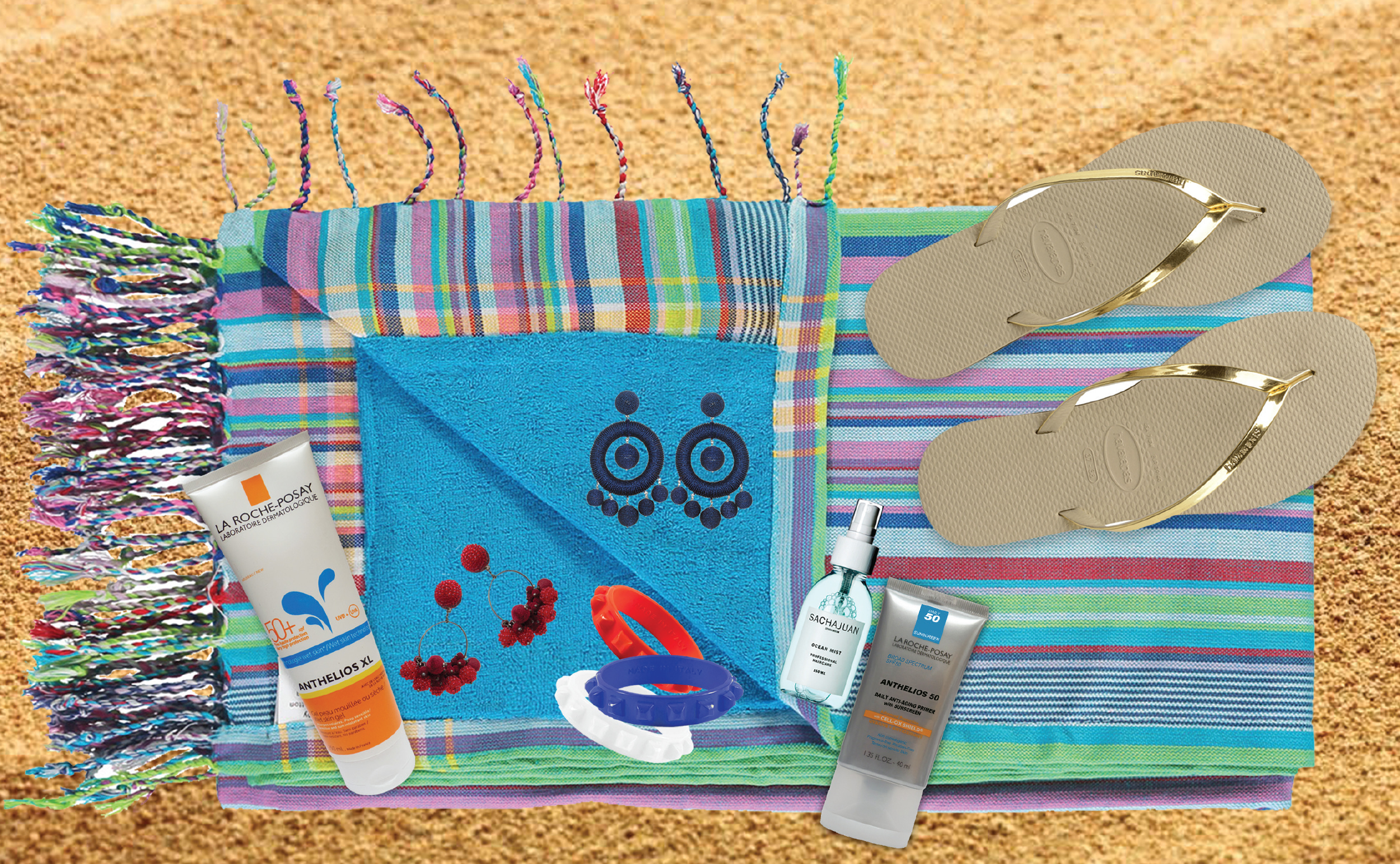 You only need a few things for a gorgeous beach day!