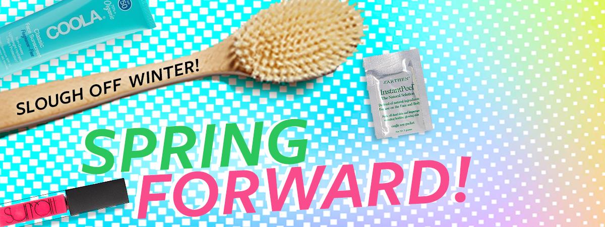 Blog Spring Forward! 2021