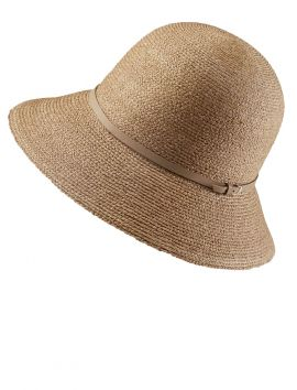 Besa 9 Cloche Hat in Nougat, Nut