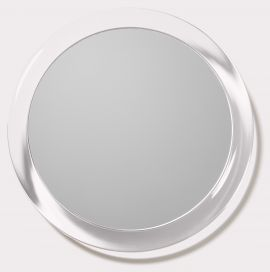 Round Lucite Mirror 5X with Suction Cup