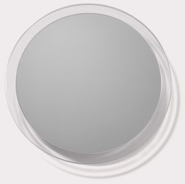 Round Lucite Mirror 7X with Suction Cup