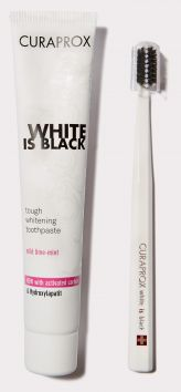 White is Black Whitening Toothpaste
