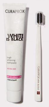 White is Black Whitening Toothpaste