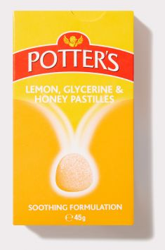 Lemon, Glycerine and Honey Pastilles