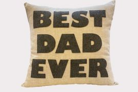 Throw Pillow, Best Dad Ever