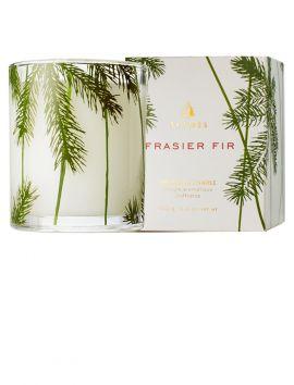 Frasier Fir Candle Pine Needle Design