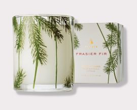 Frasier Fir Candle Pine Needle Design