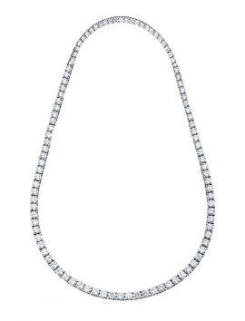 Classic CZ Tennis Necklace