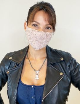 Face Mask Stylish Sequin