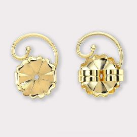 14K Yellow Gold Earring Lifts