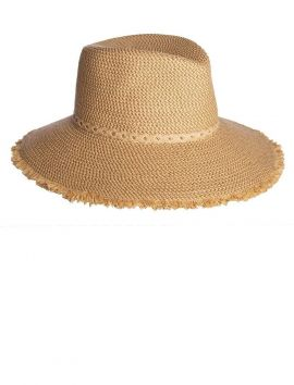 Mykonos Fedora Hat, Peanut