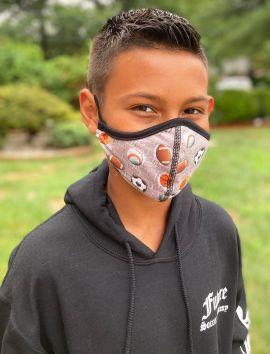 Boys Face Mask +8