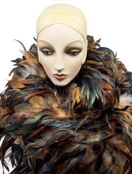 Natural Coque Feather Boa