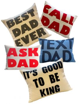 Throw Pillow for Dad