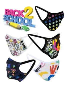 Girls Back to School Mask Pack