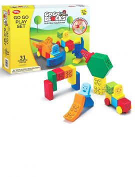 GoGo Magnetic Blocks Play Set