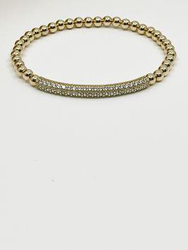 Pave Bar Bracelets