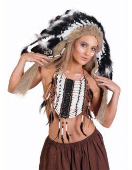 Feather Headdress Costume