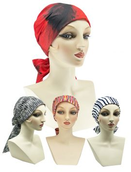 Gigi Satin Turban Headband