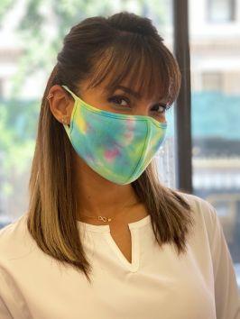 Tie-Dye Fashion Face Mask