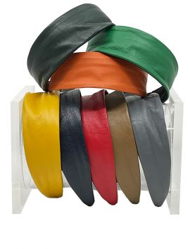 Leather Wide Headband