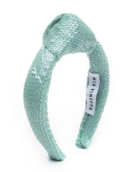 Karyn Sequin Headband with Knot