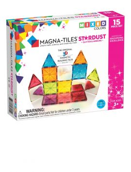 Magna-Tiles Mixed Colors 15PC