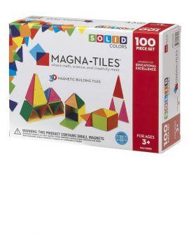 Magna-Tiles Solid Colors 100PC