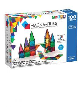 Magna-Tiles Clear Colors 100PC