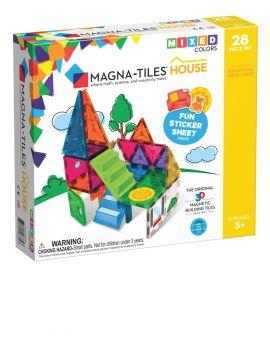 Magna-Tiles Clear Colors 28PC