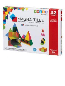Magna-Tiles Solid Colors 32PC