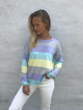Manhattan Block Sweater