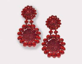 Mini Regal Drop Earrings | Sachin and Babi