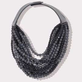 Bella Necklace in Anthracite