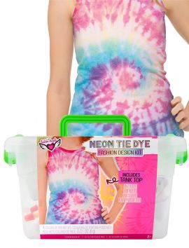 Neon Tie Dye Fashion Design Kit