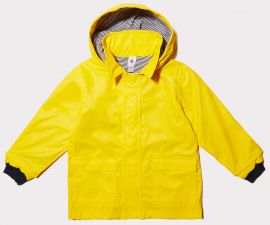Kid's Iconic Raincoat in Yellow