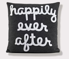 """Happily Ever After"" Pillow"
