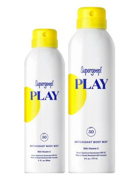 PLAY Antioxidant Body Mist SPF 50 with Vitamin C