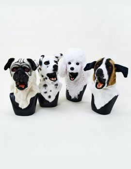 Plush Dog Mask