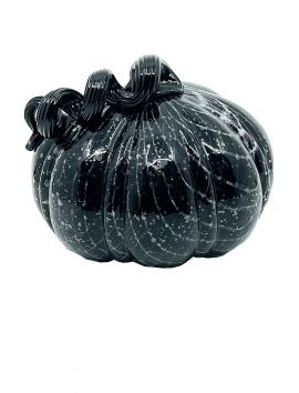 Black Glass Pumpkin