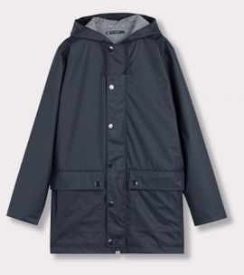 Women's Iconic Raincoat in Navy