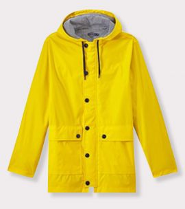 Women's Iconic Raincoat in Yellow