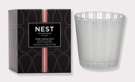 Rose Noir and Oud Scented Candle