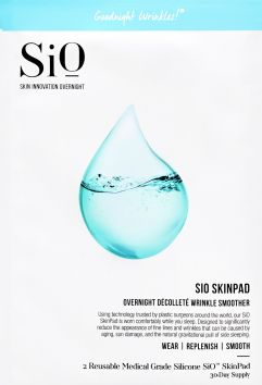 Overnight Décolleté Wrinkle Smoother SkinPad | SiO Beauty