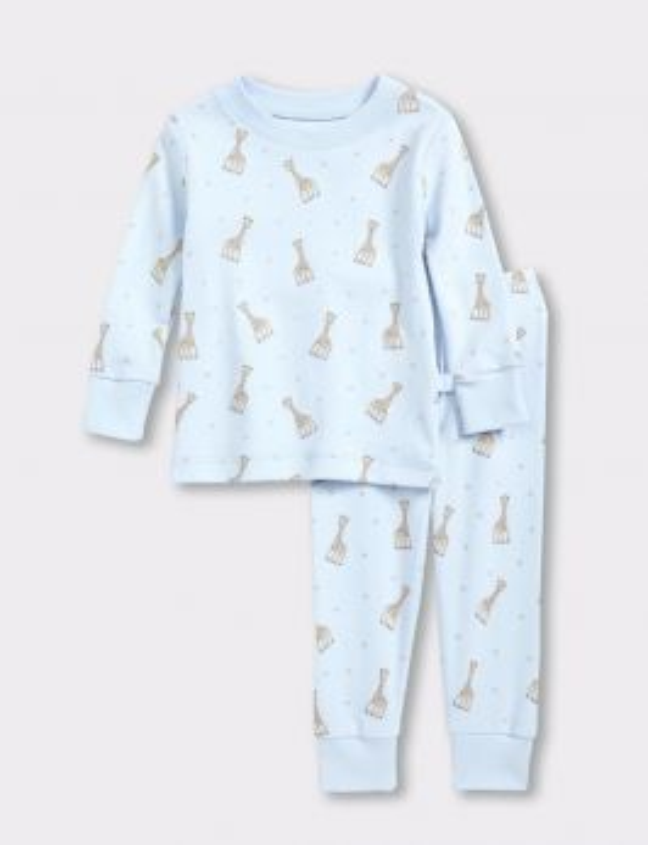Sophie la Girafe Print Toddler Pajama