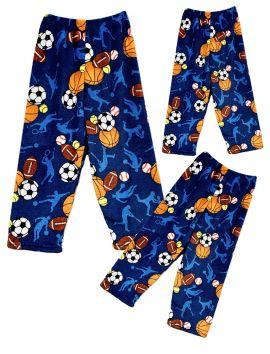 Fuzzy Flurry Sports Frenzy Pajama Pants