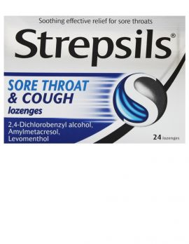 Sore Throat & Cough Lozenges