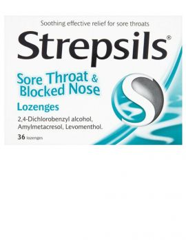 Sore Throat and Blocked Nose Lozenges