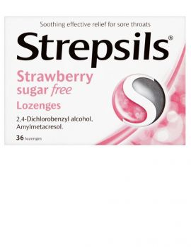 Strawberry Sugar Free Lozenges