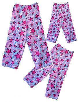 Fuzzy Flurry Swirly Stars Pajama Pants